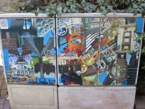 Streetart in Vlothos Innenstadt