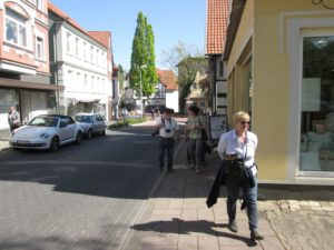 Die mittlere Lange Straße.