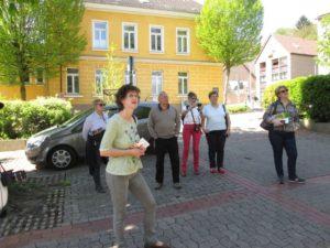 Besuchsgruppe 2016 vor dem alten Amtsgericht