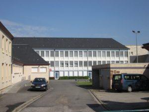 Das Collège Gérard Philippe in Aubigny (Bild: Ulrich Klose)