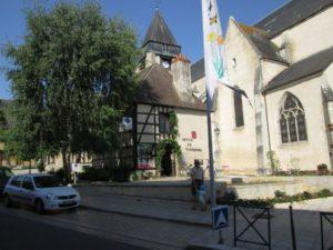 Office de Tourisme von Aubigny-sur-Nère (Bild: Ulrich Klose)