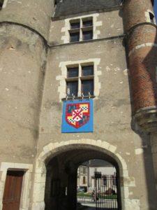 Schlossinnenhof in Aubigny-sur-Nère (Bild: Ulrich Klose)
