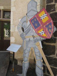"""Hinweis auf die """"Auld Aliance"""" in Aubigny (Bild: Ulrich Klose)"""