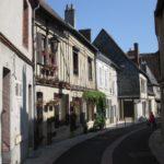 Rue des Foulons in Aubigny (Bild: Ulrich Klose)