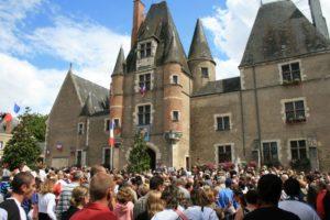 Das Chateau des Stuarts in Aubigny beherbergt das Rathaus.