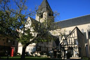 Die Eglise St. Martin von Aubigny.