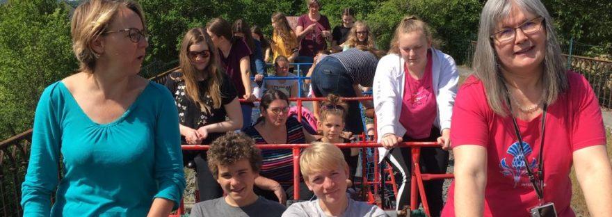 Draisiinenfahrt bei der Aubigny-Fahrt 2019