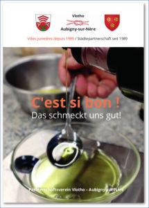 "Titelseite des Kochbuchs ""C'est si bon ! – Das schmeckt uns gut!"""