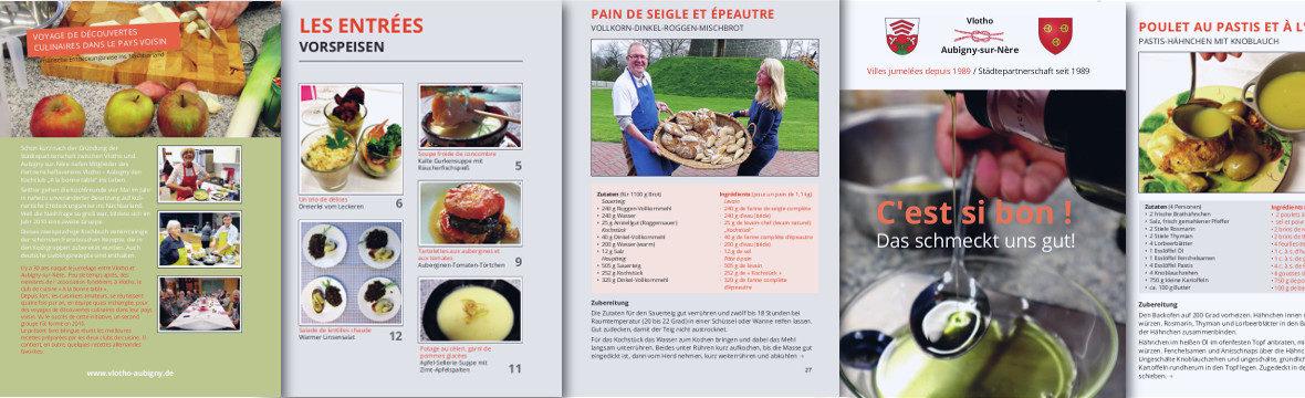 Banner für die Kochbuch-Blogseite