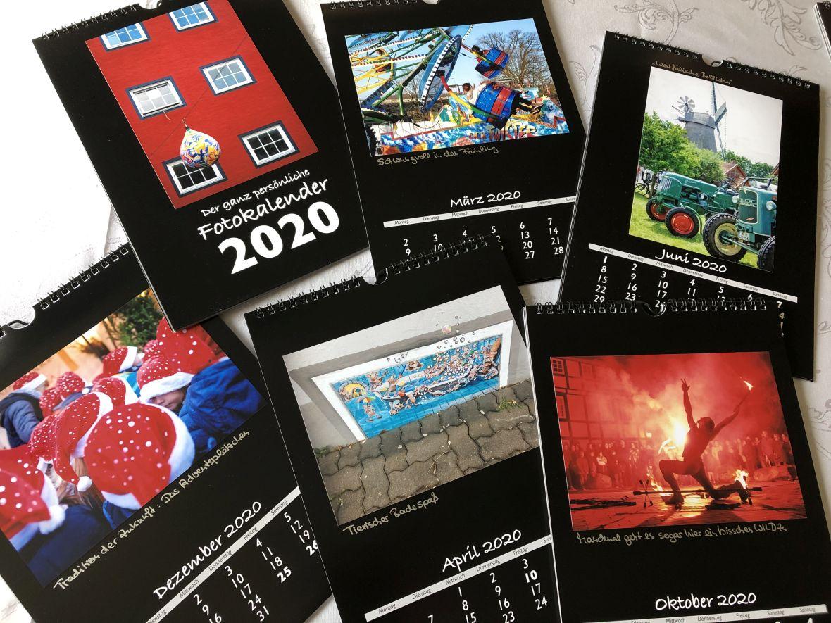 Motive für den Vlotho-Fotokalender 2020