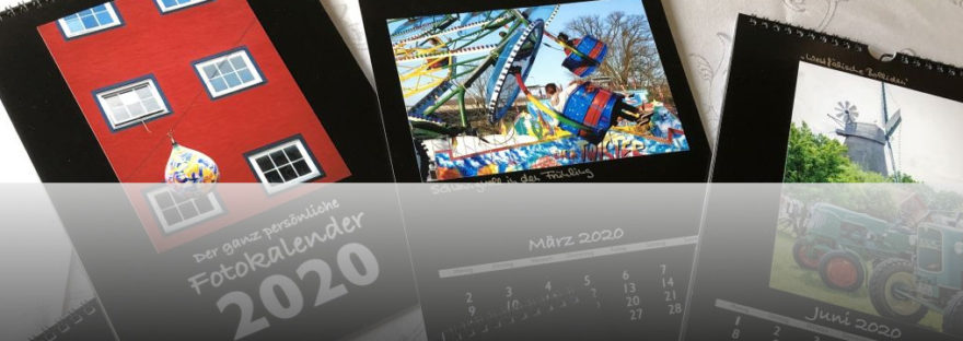 Motive des Vlotho-Fotokalenders 2020