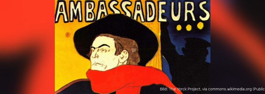 Lichtbildvortrag Klaus Kirmis: Toulouse-Lautrec und Paris. Quelle: The Yorck Project, via commons.wikimedia.org (Public Domain)