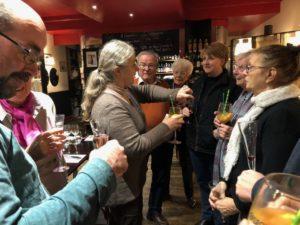 Téléthon 2019: Abschlussabend im Restaurant Bien aller
