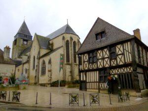 Aubigny im Winter 2019: L'Ilot des Dames
