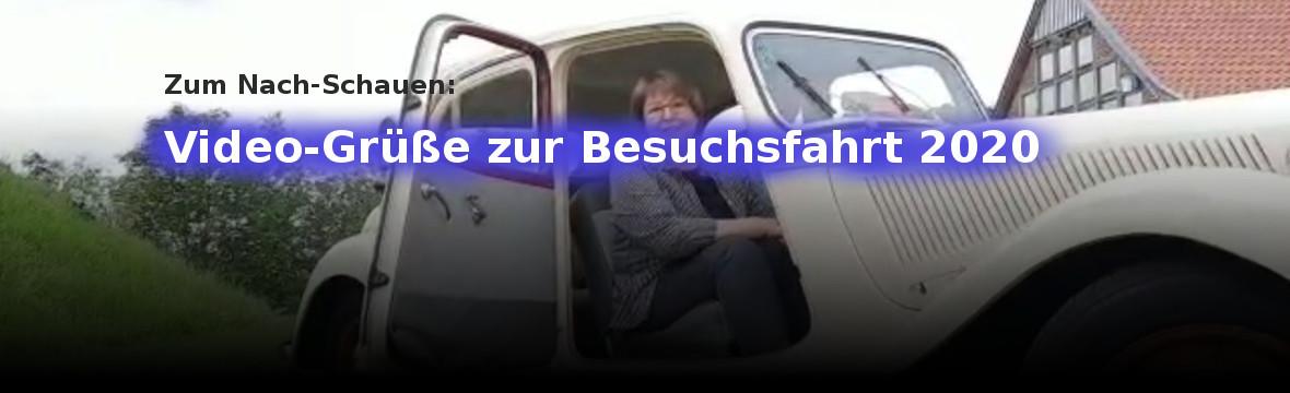 Banner Videos Absage Besuchsfahrt 2020