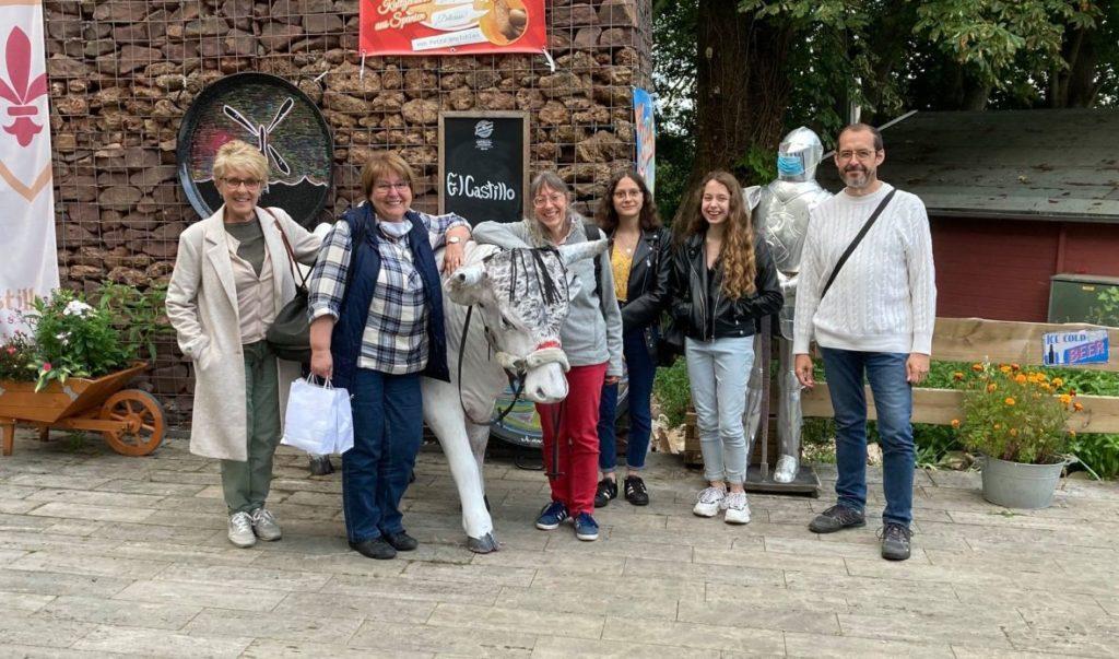 Familie Semence zu Besuch in Vlotho 2020