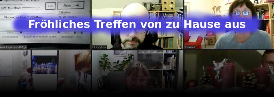 Online-Konferenz zum Téléthon 2020